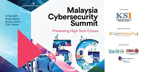 Malaysia Cybersecurity Summit 2021 tickets