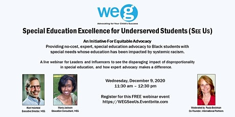 Special Education Excellence for Underserved Students (SEEUS) tickets