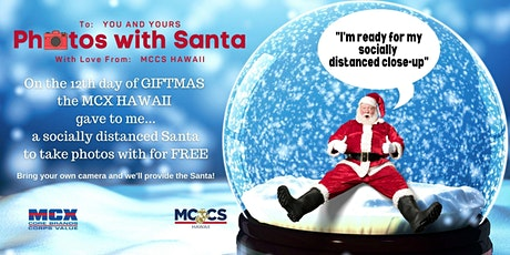 MCX Hawaii - Photos with Santa tickets