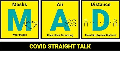 COVIDStraightTalk.org Town Hall #ClearTheAir tickets