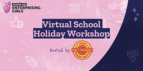 Enterprising Girls Virtual Holiday Workshop: Future of Fashion tickets