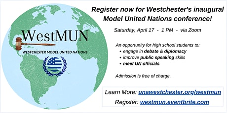 Westchester Model United Nations Conference biglietti