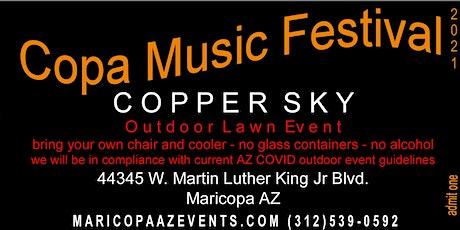 COPA Music Festival 2021 tickets