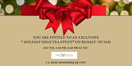 """Copy of Holiday """"High Tea"""" tickets"""
