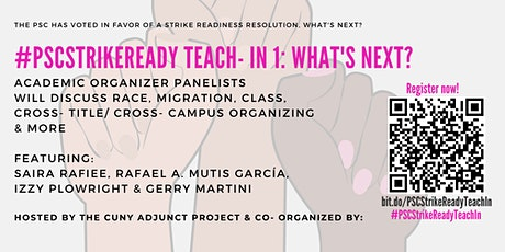 #PSCStrikeReady Teach- In Series: What next? tickets