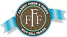 Fabric, Fiber & Finds logo