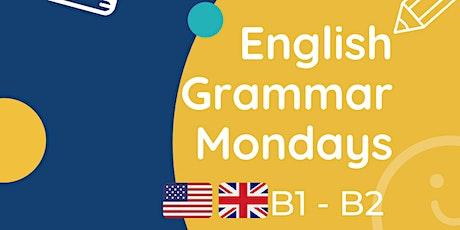 English Grammar Mondays B1-B2 tickets