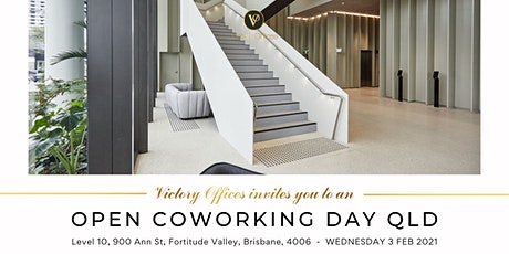 Victory Offices | Open Coworking Day | Fortitude Valley tickets