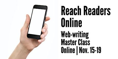 Reach Readers Online tickets