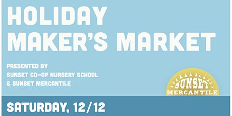 Holiday Maker's Market | Open-Air Marketplace tickets