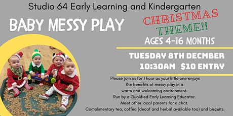 "Baby Messy Play ""Christmas Theme"" tickets"