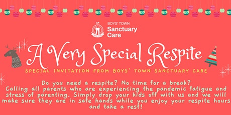 Christmas Activities for Children and Respite for Parents tickets