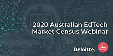 2020 Australian EdTech Market Census Launch Webinar tickets