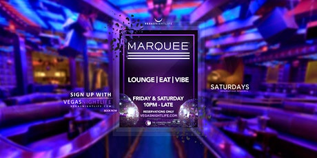 Marquee Saturday Las Vegas tickets