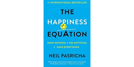 Book Review & Discussion : The Happiness Equation tickets