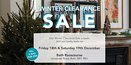 Winter Clearance Sale - Friday 18th December tickets