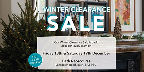 Winter Clearance Sale - Saturday 19th December tickets