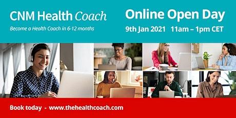 Health Coach Online Open Day (NL) tickets