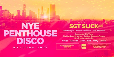 NYE PENTHOUSE DISCO WELCOME 2021 tickets