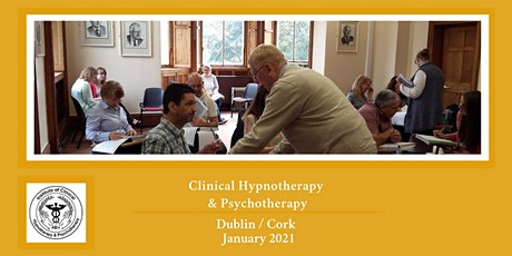 Clinical Hypnotherapy & Psychotherapy Training Dublin & Cork tickets