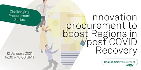 Innovation procurement to boost Regions in post COVID Recovery tickets
