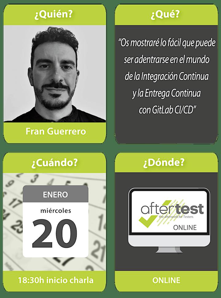 Imagen de AfterTest Online: QAOps con Gitlab CI/CD