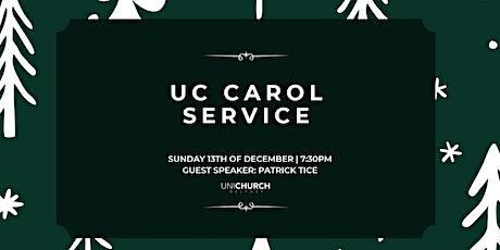 UniChurch Carol Service tickets
