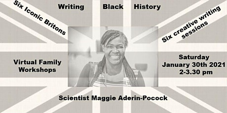 Writing Black History Maggie Aderin-Pocock tickets