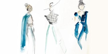 Online-Workshop | Aquarelle & Modeskizzen | Für 11- bis 16-Jährige Tickets