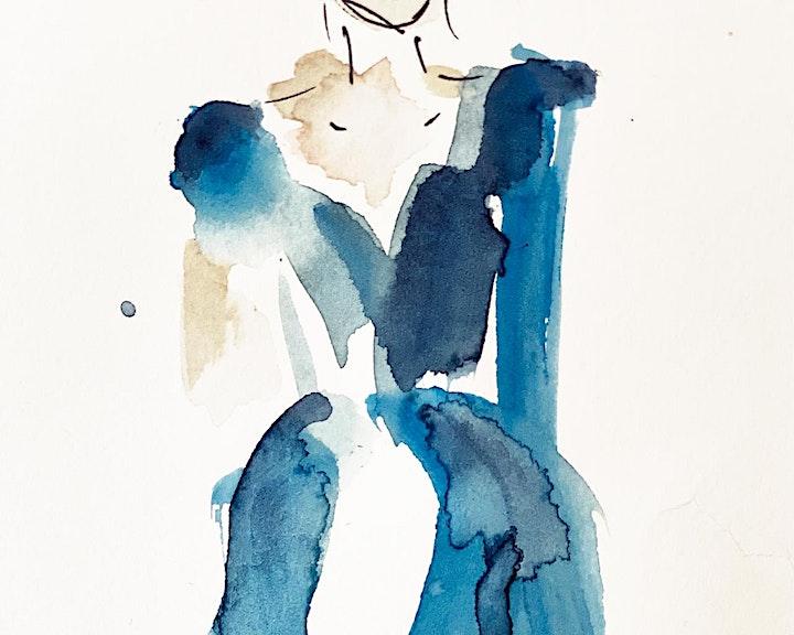Online-Workshop | Aquarelle & Modeskizzen | Für 11- bis 16-Jährige: Bild