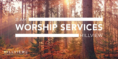 On-site Church worship services  at Hillview tickets