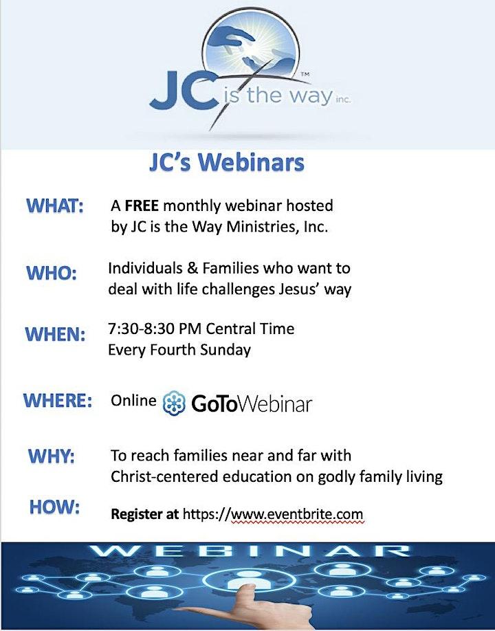 JC's Webinars image