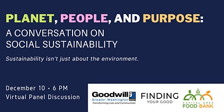 Planet, People, and Purpose: A Conversation on Social Sustainability tickets