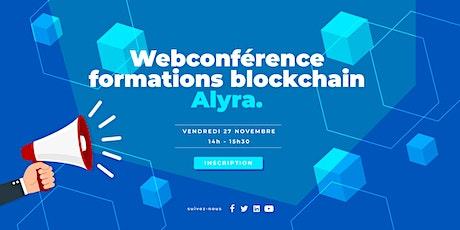 Webconférence - Découvrir les formations blockchain avec Alyra billets