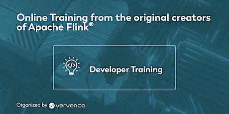 Apache Flink Developer Training - April 2021 tickets