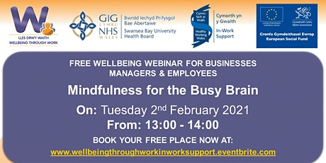 Mindfulness for the Busy Brain tickets