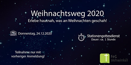 Weihnachtsweg 2020 Tickets
