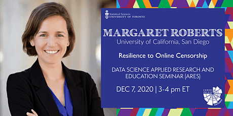 Data Science Applied Research and Education Seminar: Margaret Roberts tickets