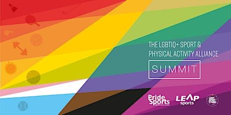 LGBTIQ+ Sport & Physical Activity Alliance Summit tickets