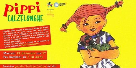 Pippi Calzelunghe (7-10 anni) biglietti
