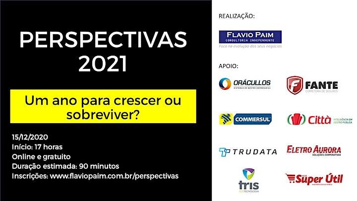 Imagem do evento Perspectivas 2021