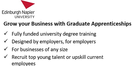 Graduate Apprenticeships in Engineering: Design and Manufacture tickets