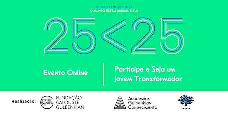 Desafio Gulbenkian 25sub25 | Evento Online (Dia 2) ingressos