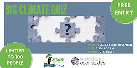 Big Climate Quiz 2020! tickets