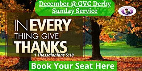 GVC Derby Sunday Service (6th December 2020) | 10:00am-12:00pm tickets