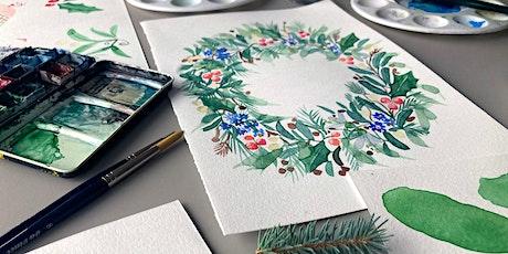 Watercolour Wreaths tickets