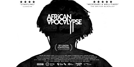 TNBFC | AFRICAN APOCALYPSE VIRTUAL SCREENING TOUR  (MANCHESTER) tickets