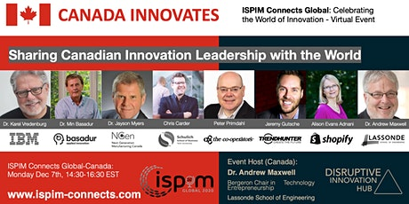 Canada Innovates: Sharing Canadian Innovation Leadership with the World tickets