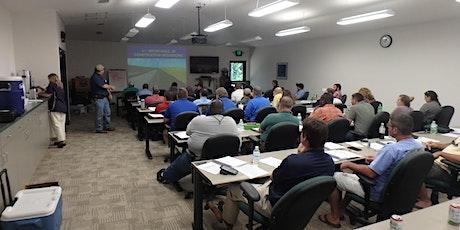 2021 Florida Erosion & Sedimentation Control Inspector Training tickets