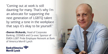 LGBT+ Directors and Leaders Network: In Conversation with Darren Rickards tickets